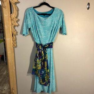 Jones New York Dress 👗 Love the drape and weight